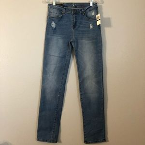 NWT 7 For All Mankind Slimmy Stretch Jeans Boys 16